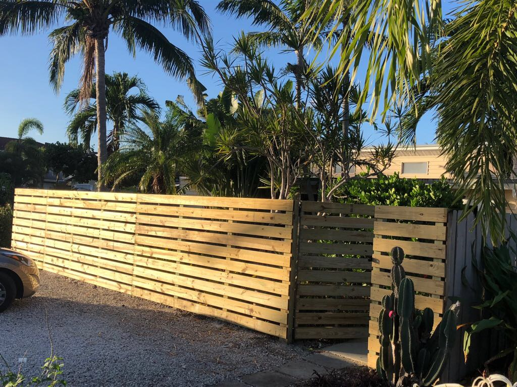 wood fence installation hollywood fl