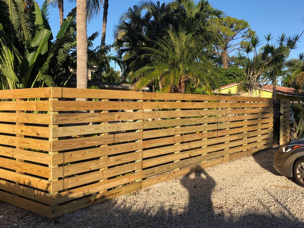 residential wood fence hollywood fl
