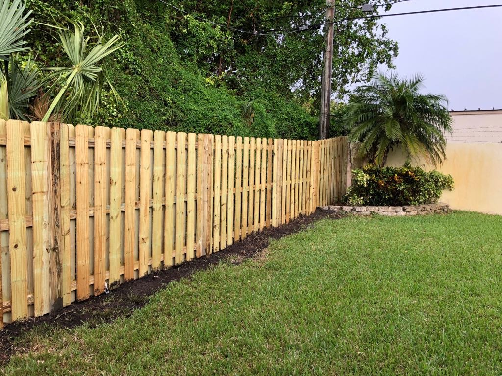 residential wood fence company hollywood fl