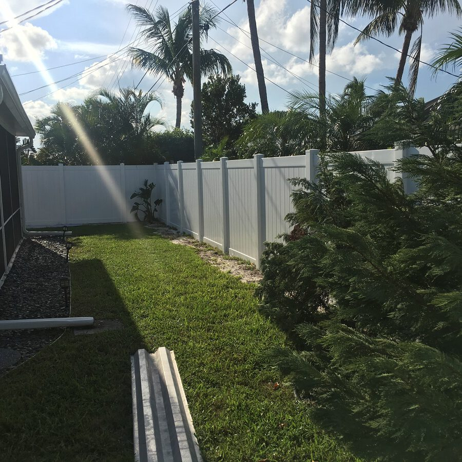 fence install